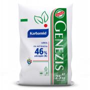 GENEZIS KARBAMID, 25 kg-os zsákban, palettán
