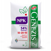GENEZIS NPK 10-20-10, 25 kg-os zsákban, palettán