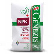 GENEZIS NPK 8-21-21, 25 kg-os zsákban, palettán